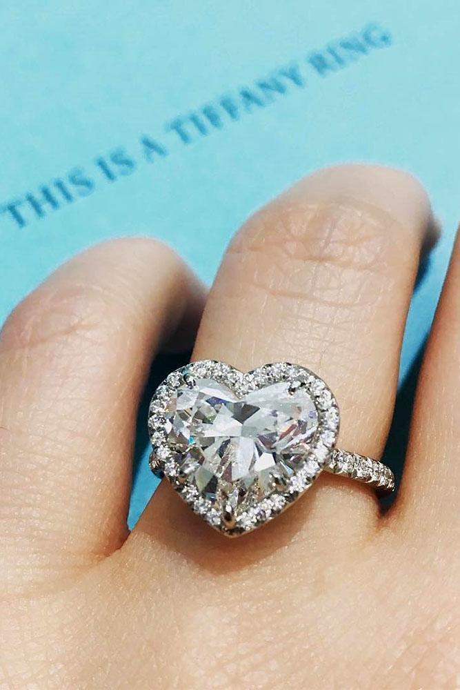 tiffany engagement rings heart cut engagement rings white gold engagement rings