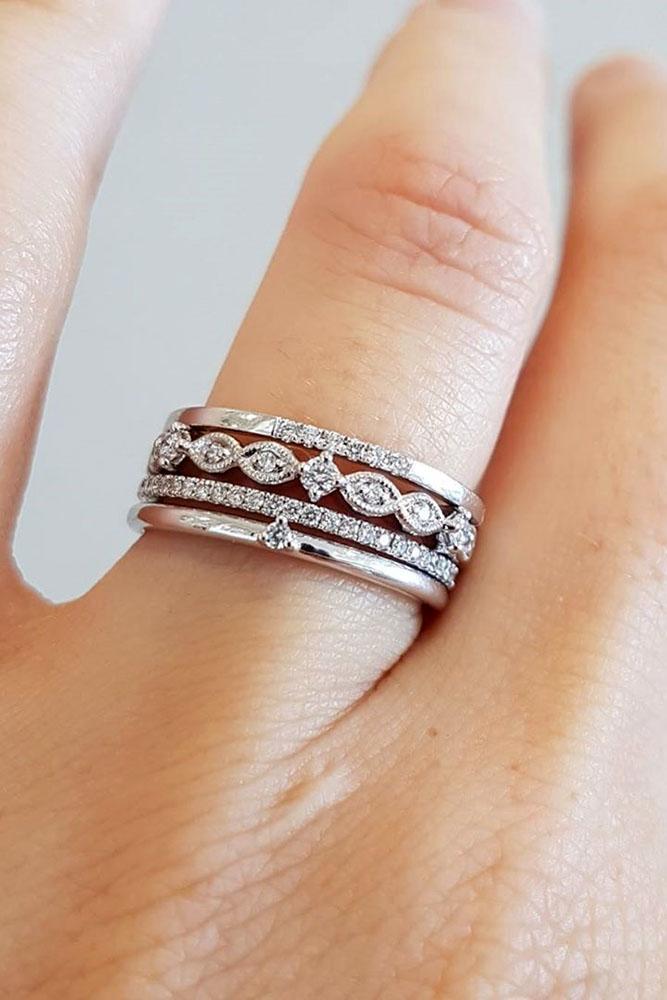 wedding rings set diamond wedding rings white wedding rings unique wedding band