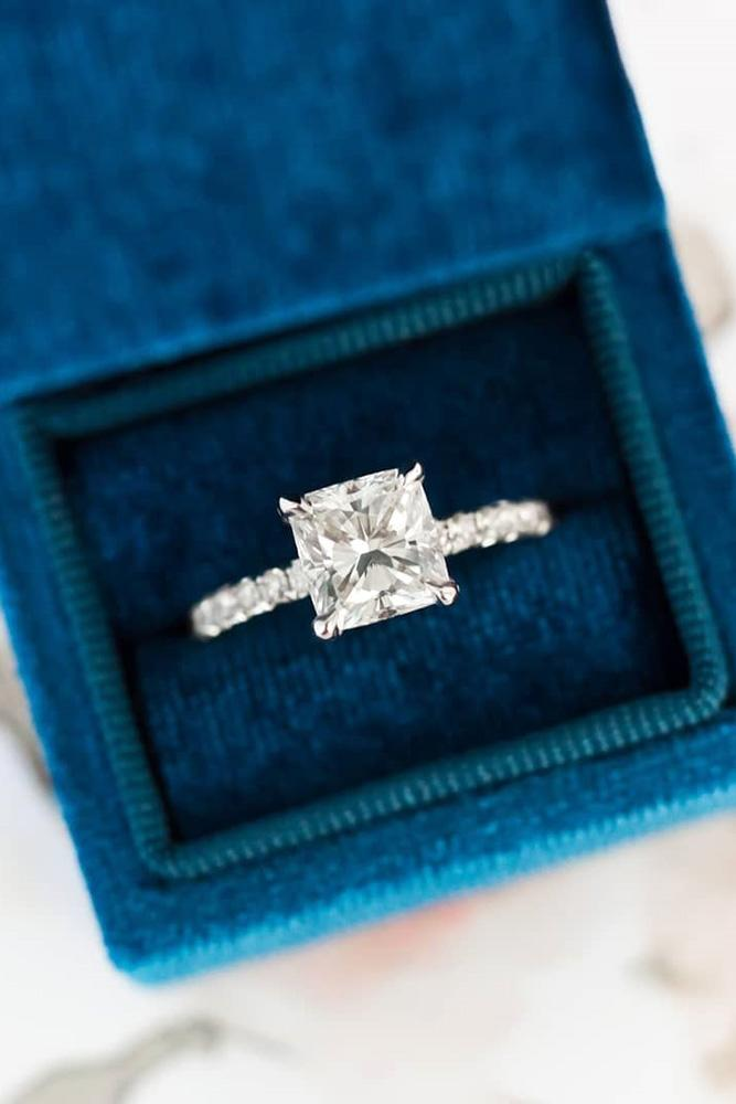 beautiful engagement rings princess cut engagement rings white gold engagement rings