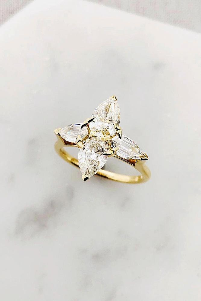 best engagement rings rose gold engagement rings marquise cut engagement rings