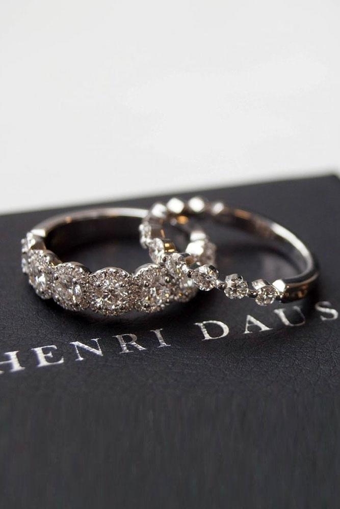 diamond wedding rings white gold engagement rings white gold wedding bands stackable bands