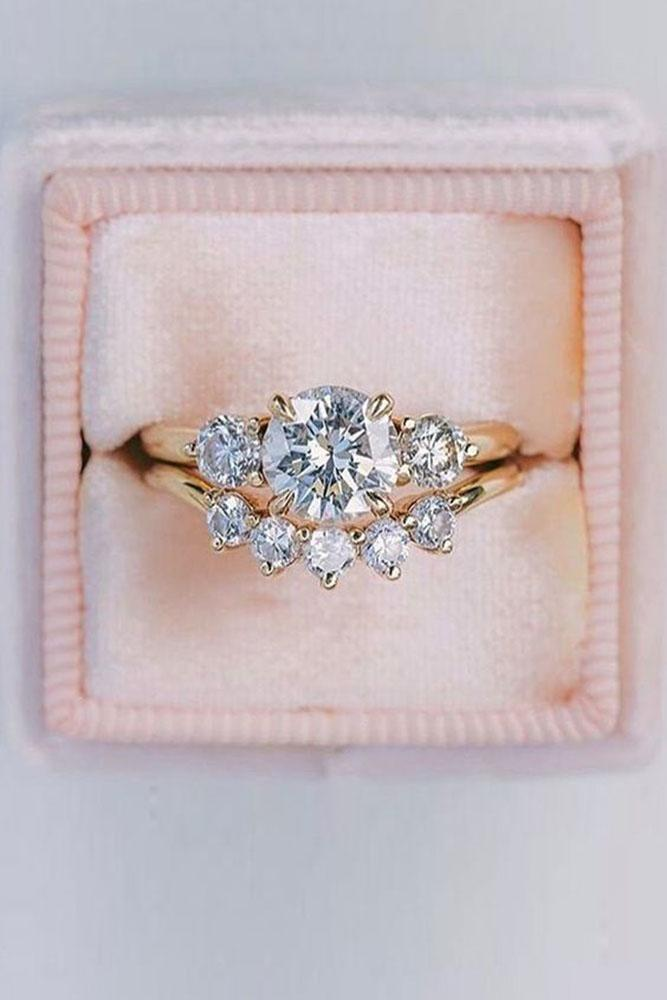 best rings 2019 bridal sets rose gold wedding ring sets diamond wedding rings