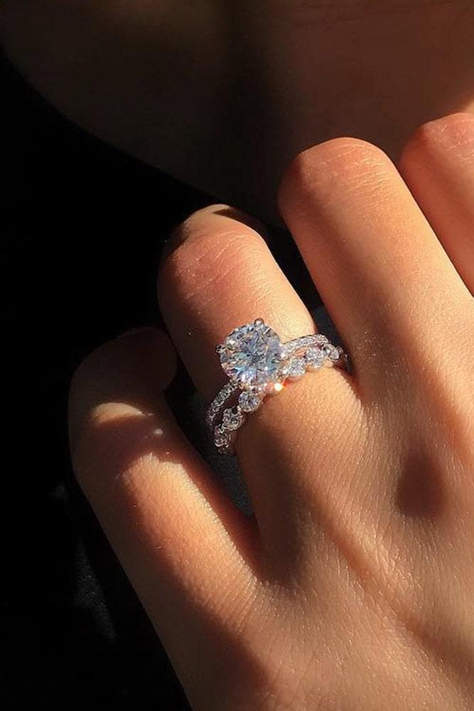 best rings 2019 bridal sets white gold wedding ring sets diamond wedding ring