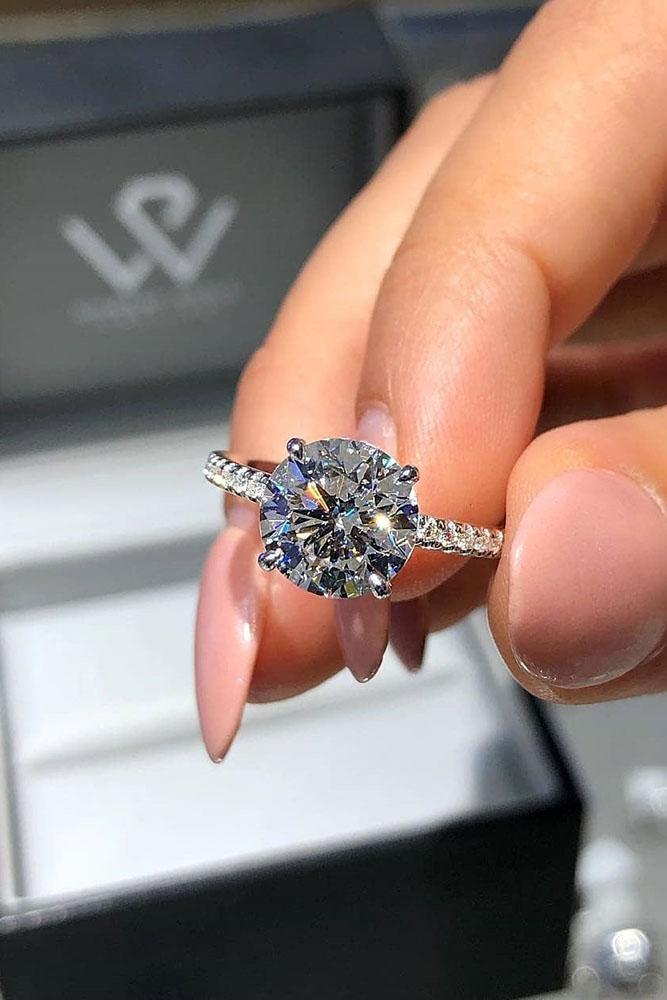 best rings 2019 simple engagement rings cushion cut engagement rings white gold rings