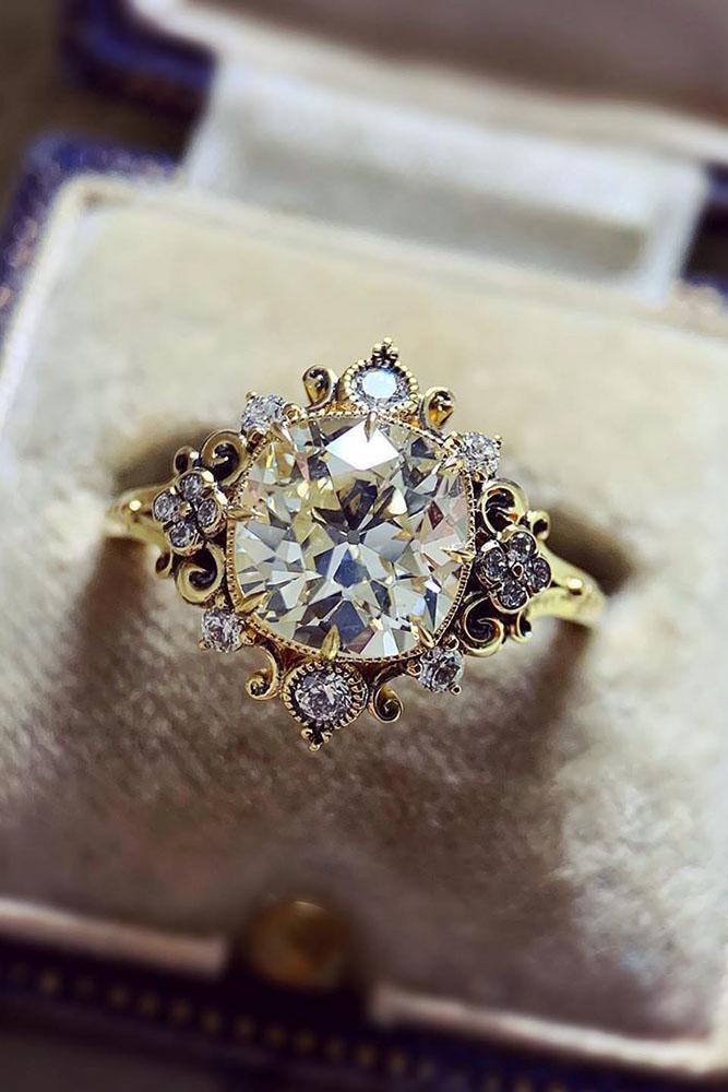 best rings 2019 vintage engagement rings rose gold engagement rings unique engagement rings