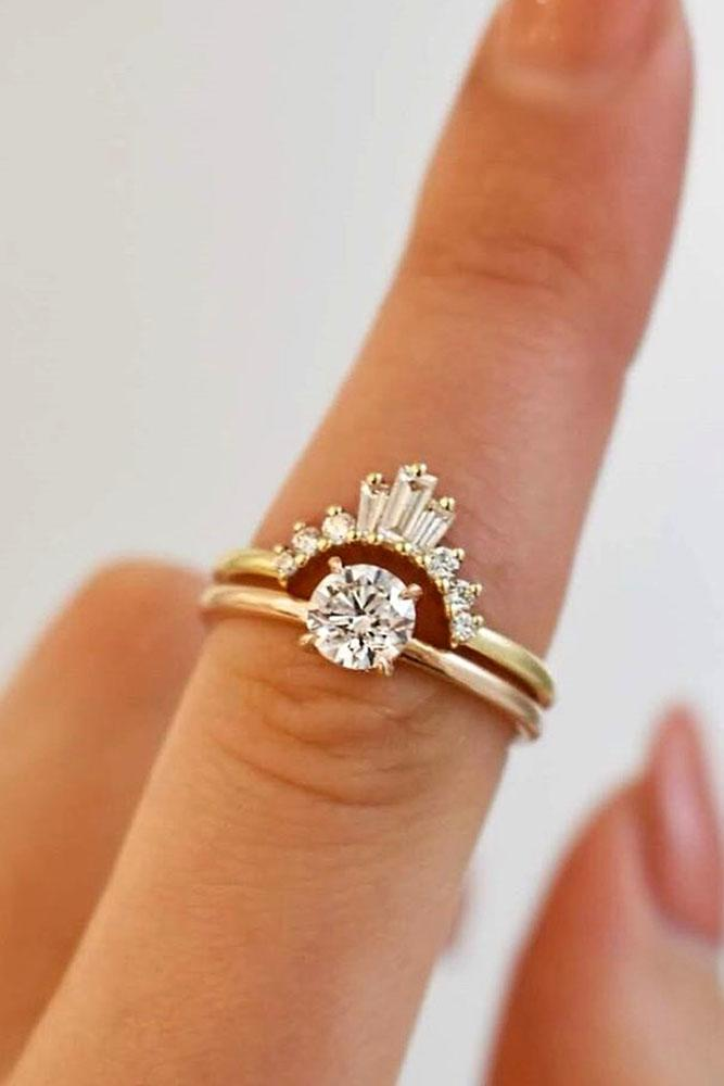 diamond wedding rings unique wedding rings rose gold wedding rings bridal sets