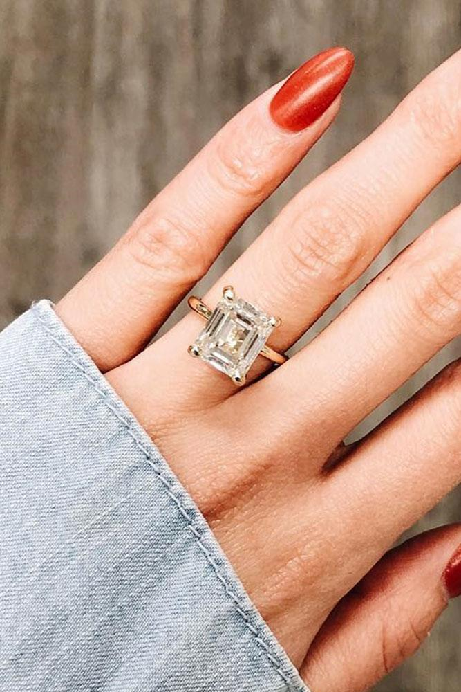 diamond engagement rings rose gold engagement rings princess cut engagement rings