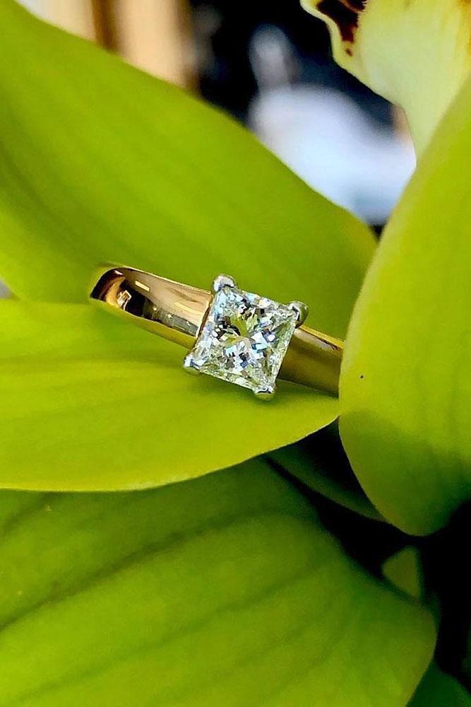 diamond engagement rings rose gold engagement rings princess cut engagement rings