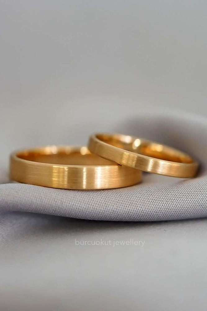 matching wedding bands rose gold wedding rings bridal sets classic wedding bands