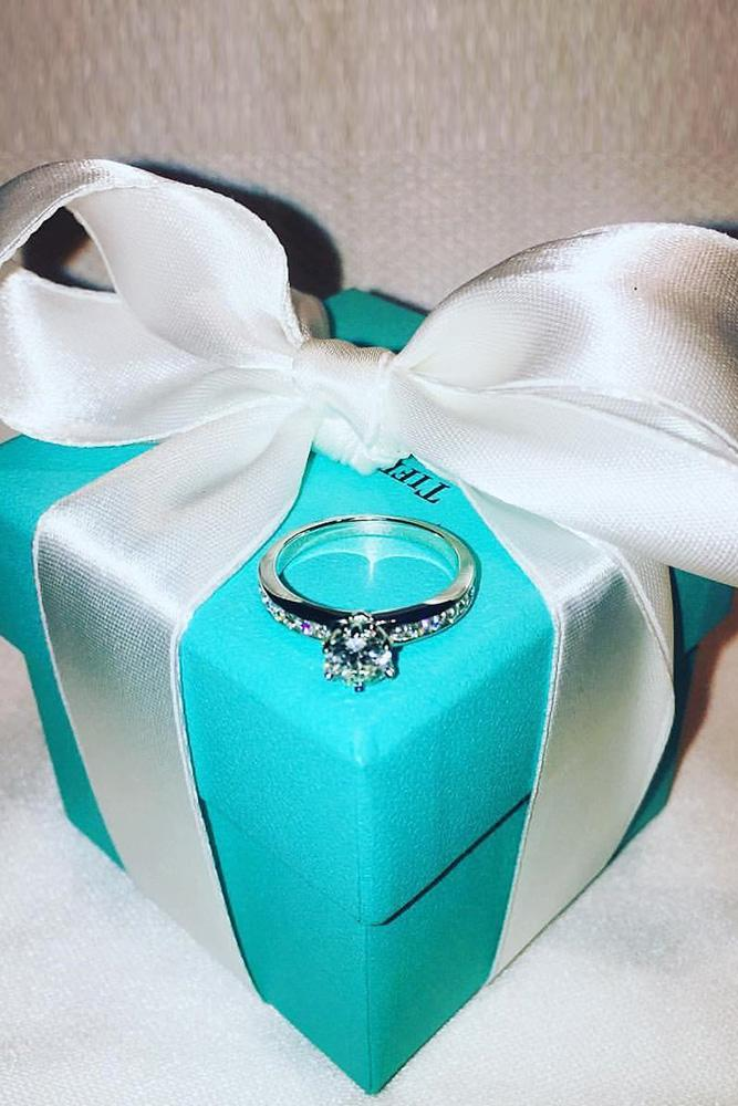 tiffany engagement rings solitaire engagement rings round cut diamond engagement rings classic engagement rings