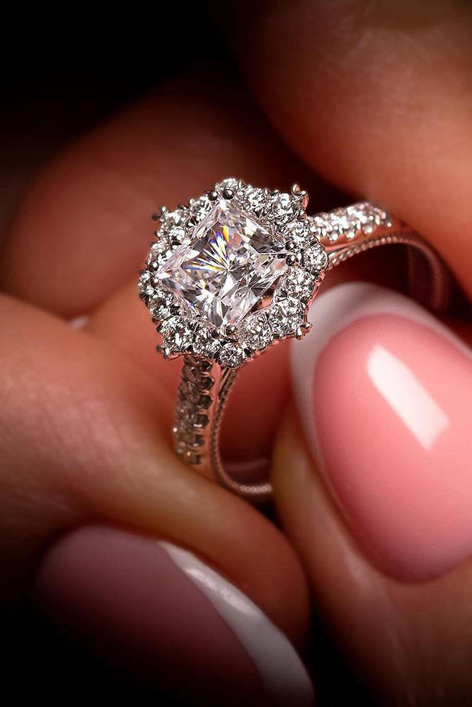 verragio engagement rings cathedral engagement rings white gold rings platinum rings floral rings