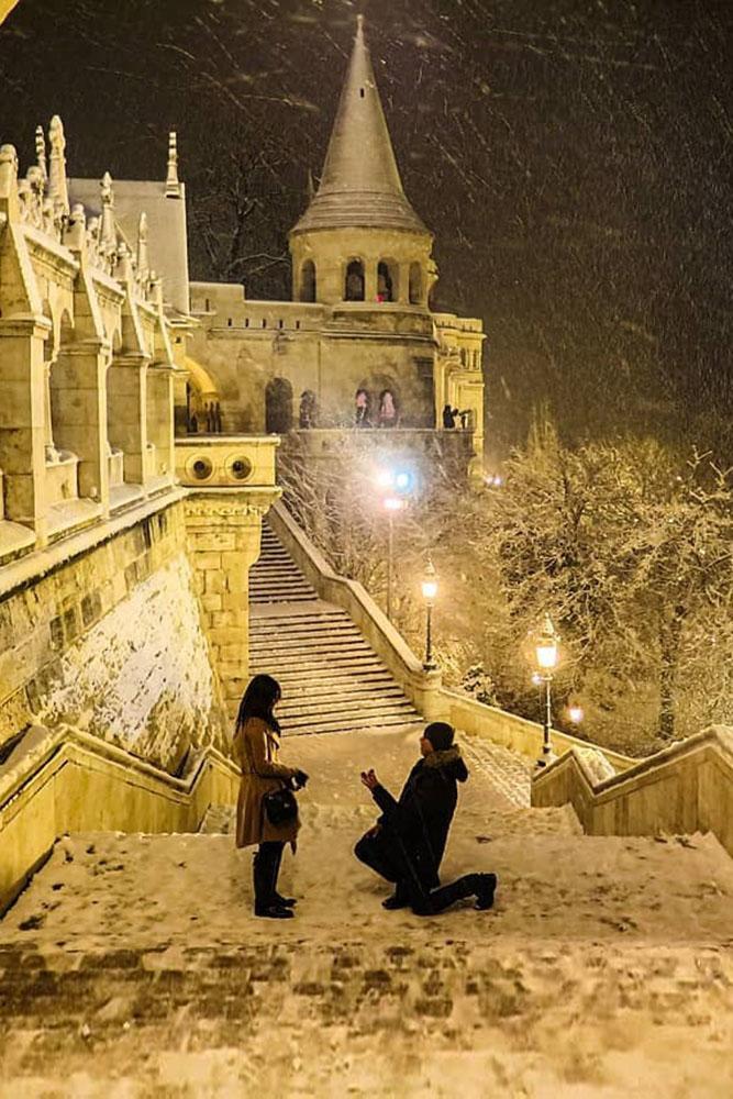 winter engagement photos engagement announcement best proposals