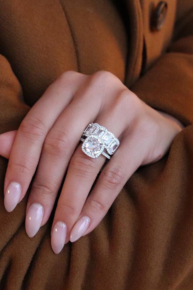 diamond wedding rings white gold wedding rings halo wedding rings