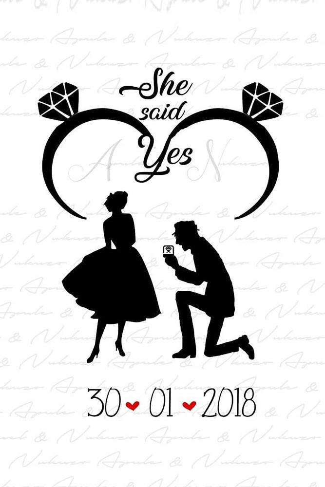 save the date ideas save the proposal date engagement announcement vintage save the date