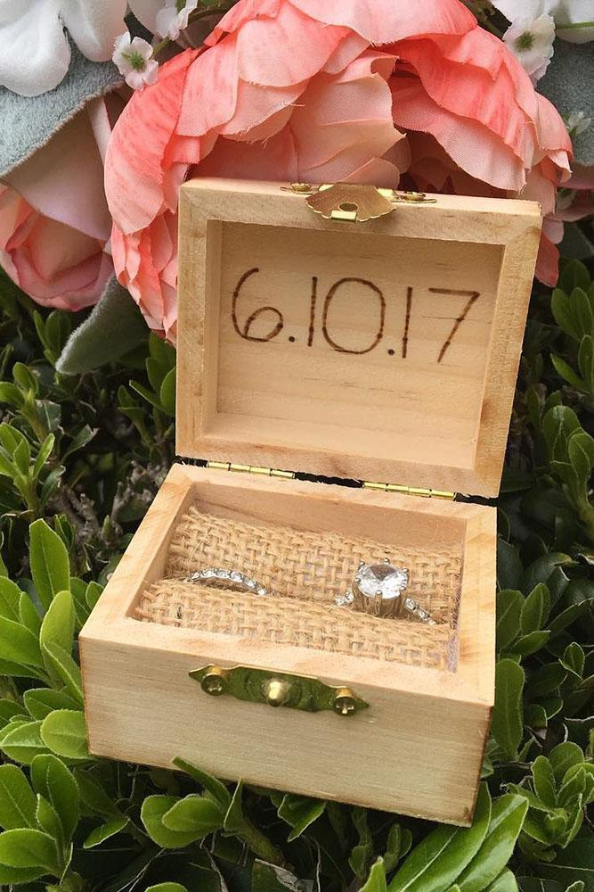 save the proposal date unique proposal ideas save the date wooden ring boxes engagement rings