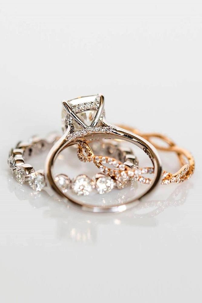 unique wedding rings bridal sets diamond engagement rings halo rings