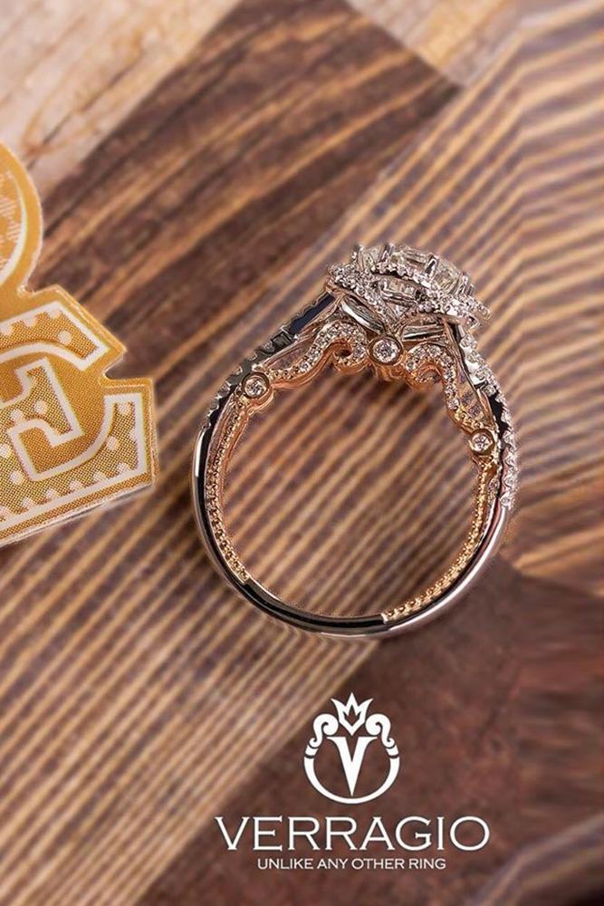 verragio engagement rings round cut diamond ring unique ring