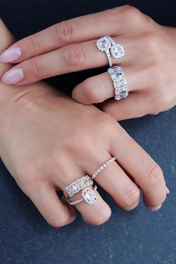 white gold engagement rings halo engagement rings diamond wedding rings