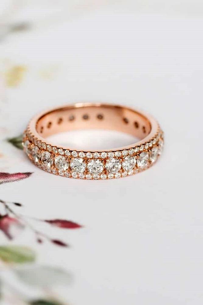 bridal sets diamond wedding rings white gold wedding bands eternity wedding bands
