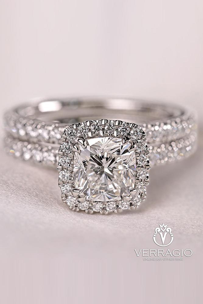 diamond engagement rings white gold engagement rings halo engagement rings cushion cut engagement rings