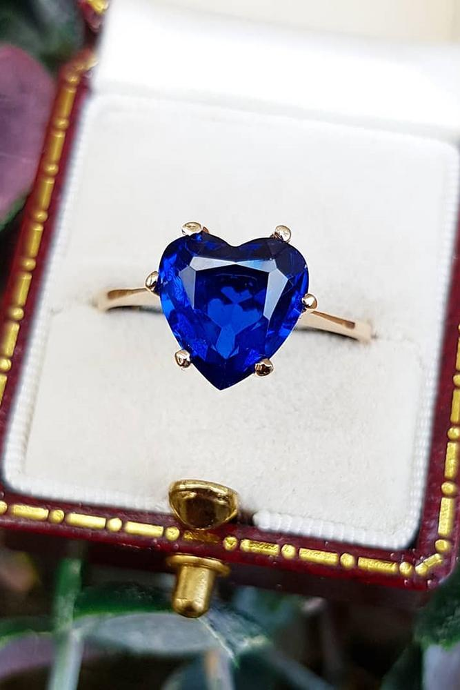 sapphire engagement rings simple engagement rings heart cut engagement rings