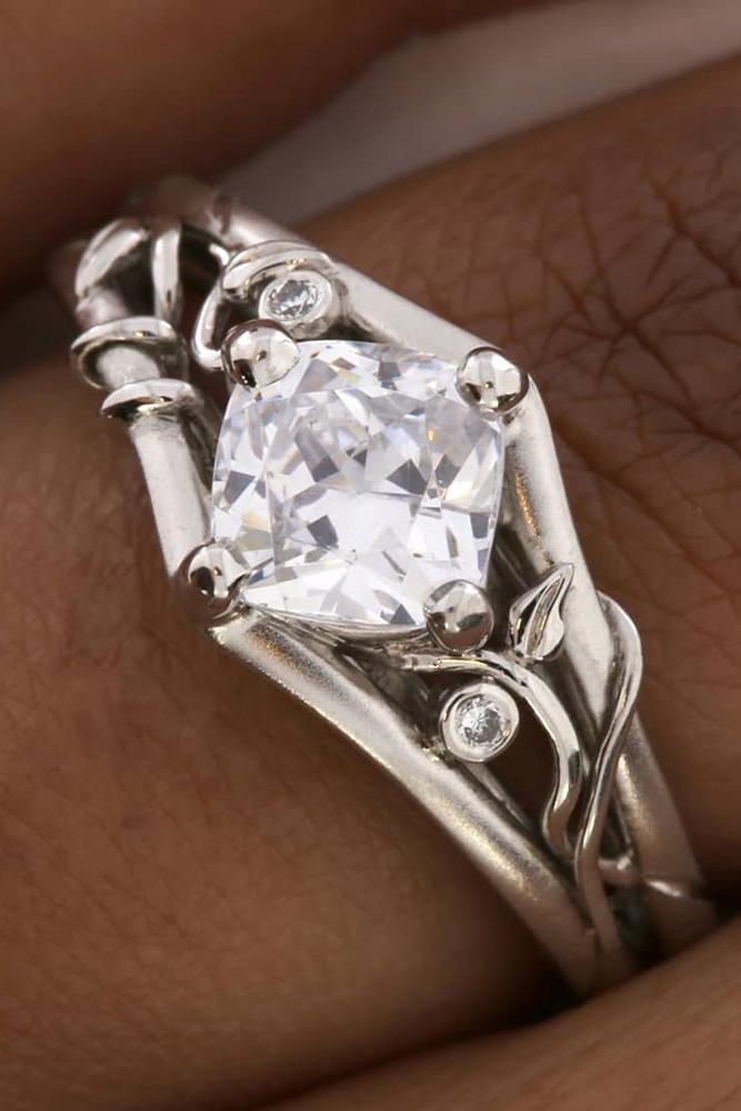 unique engagement rings white gold engagement rings floral engagement rings best rings