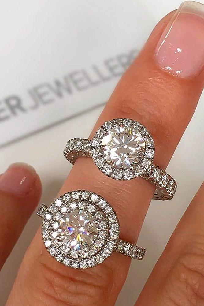 white gold engagement rings halo engagement rings diamond engagement rings