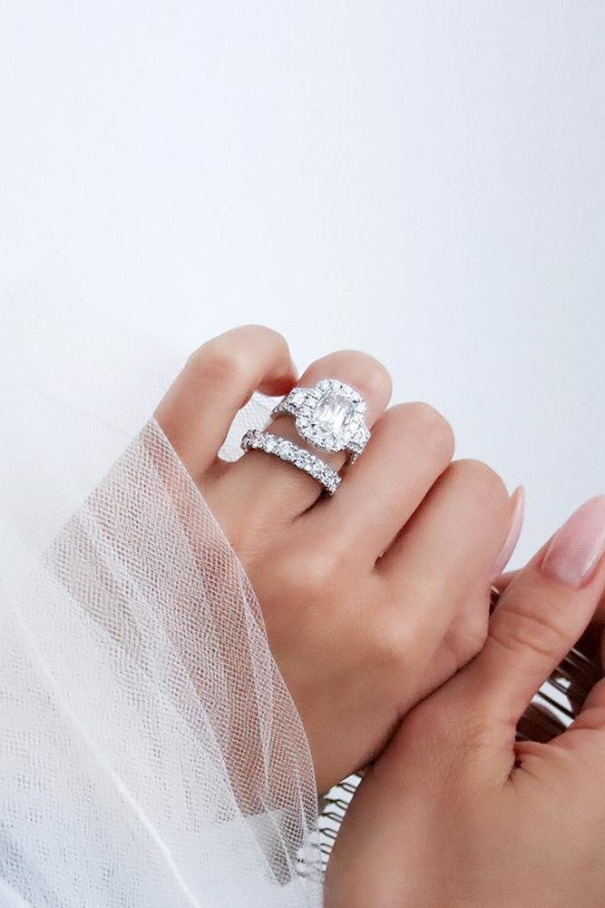 diamond wedding rings white gold wedding rings bridal sets