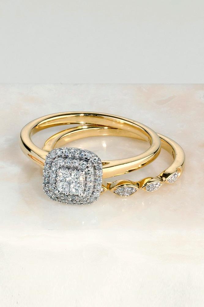diamond wedding rings yellow gold wedding rings halo wedding rings bridal sets