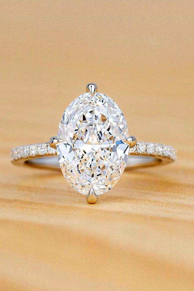oval engagement rings white gold engagement rings solitaire engagement rings