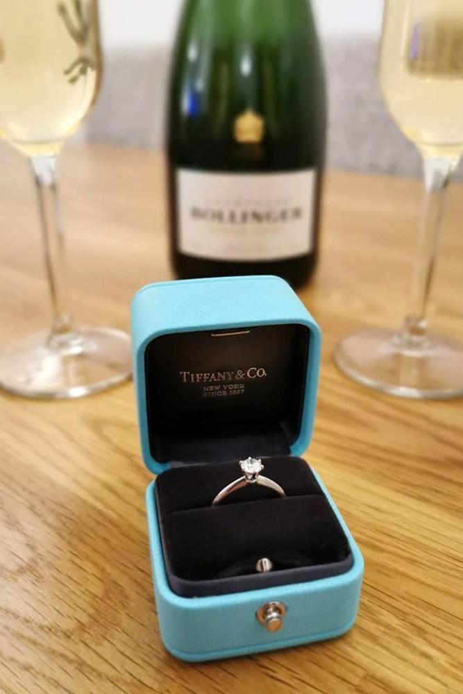 tiffany engagement rings white gold engagement rings solitaire engagement rings