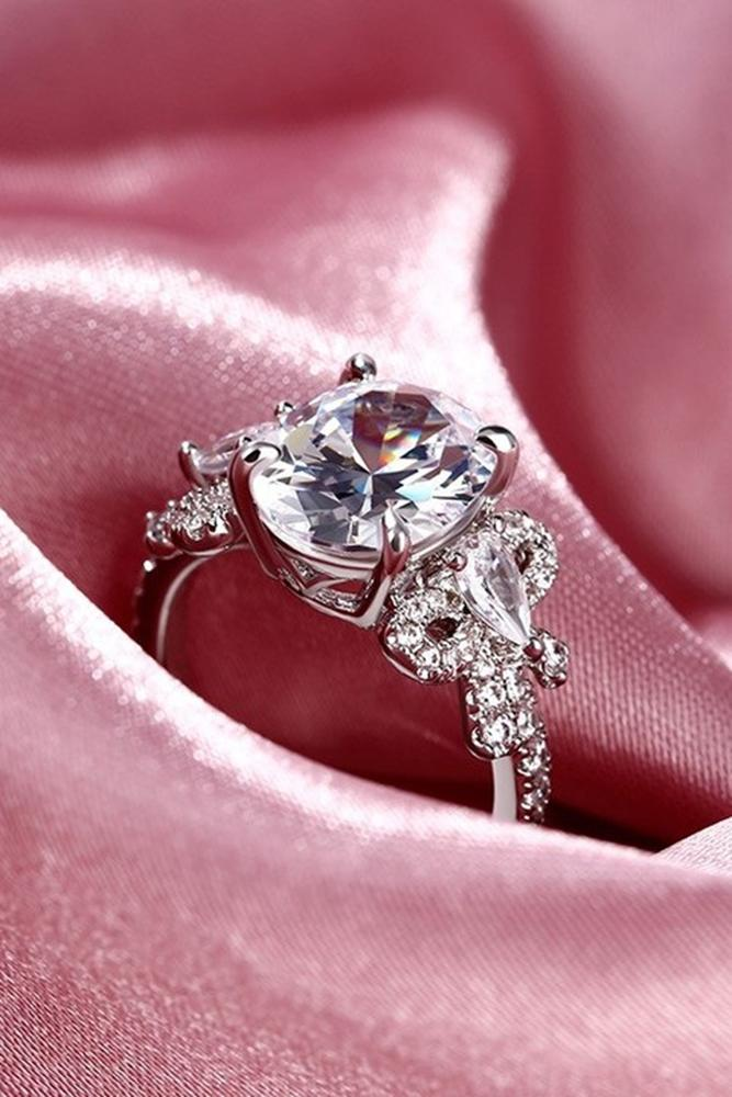 unique engagemen rings white gold engagement rings best engagement rings