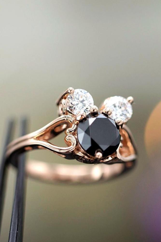 disney proposal ideas mickey ring rose gold engagement rings disney ring black diamond ring