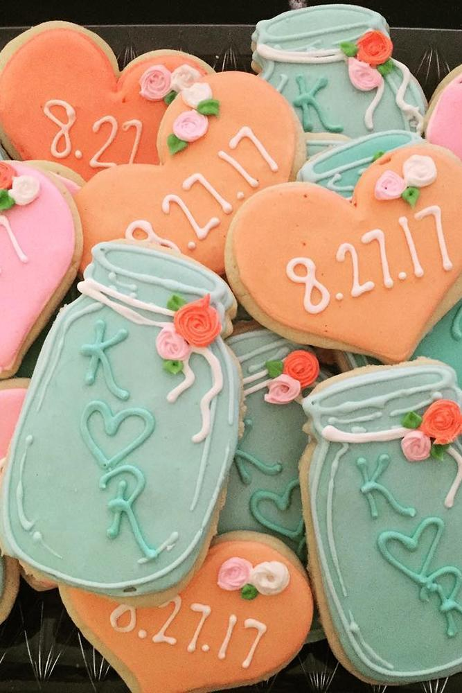 save the date ideas with sweets jar biscuit save the proposal date