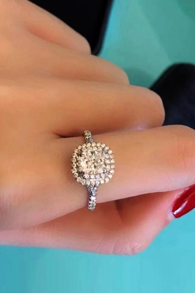 tiffany engagement rings white gold engagement rings halo engagement rings
