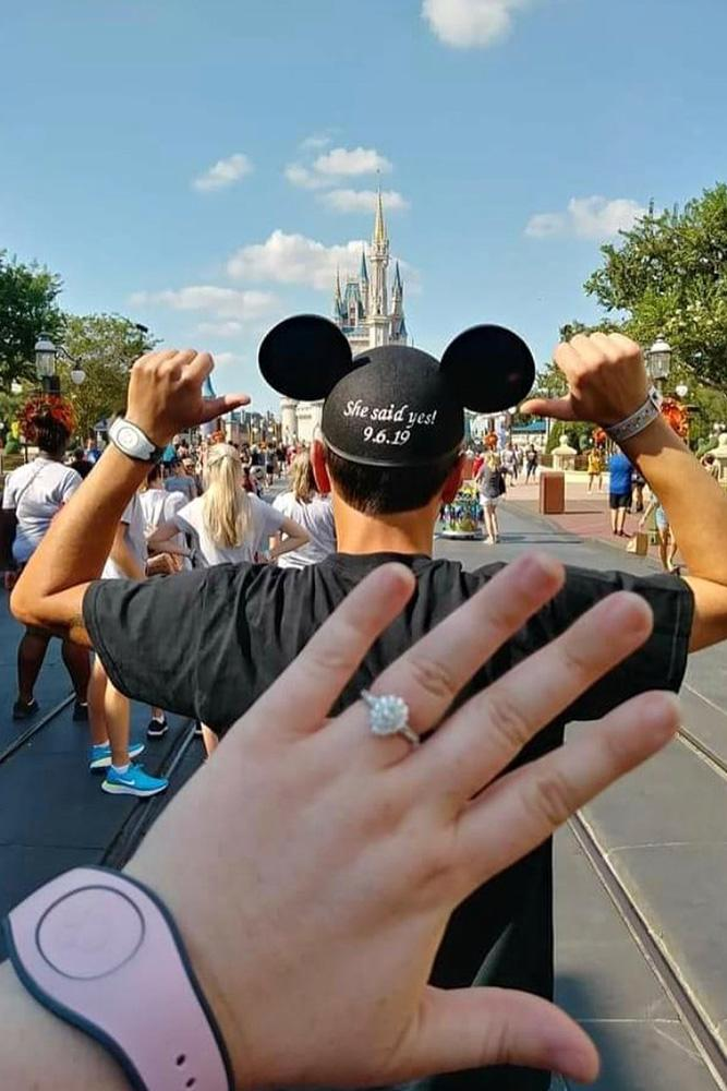 disney proposal ideas engagement rings save the date