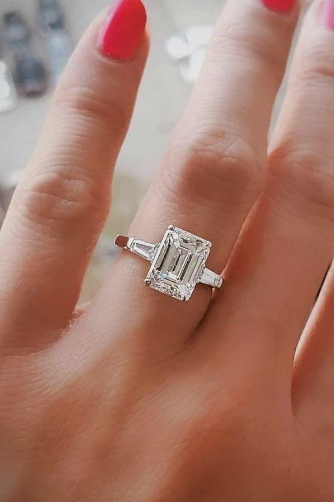 princess cut engagement rings solitaire rings1