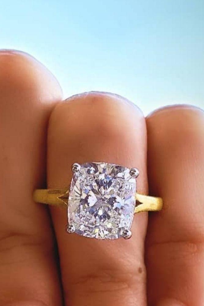 princess cut engagement rings solitaire rings2