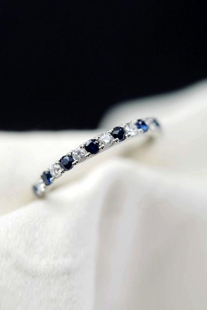 sapphire engagement rings white gold engagement rings diamond wedding band