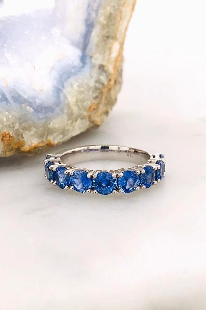sapphire engagement rings white gold engagement rings wedding band