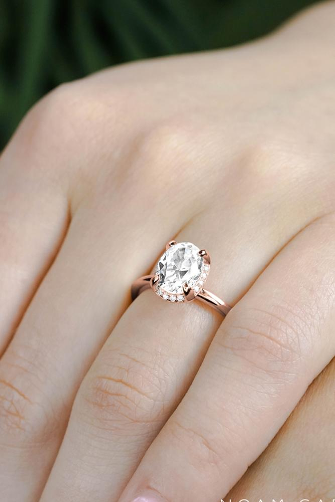 oval engagement rings rose gold engagement rings halo engagement rings