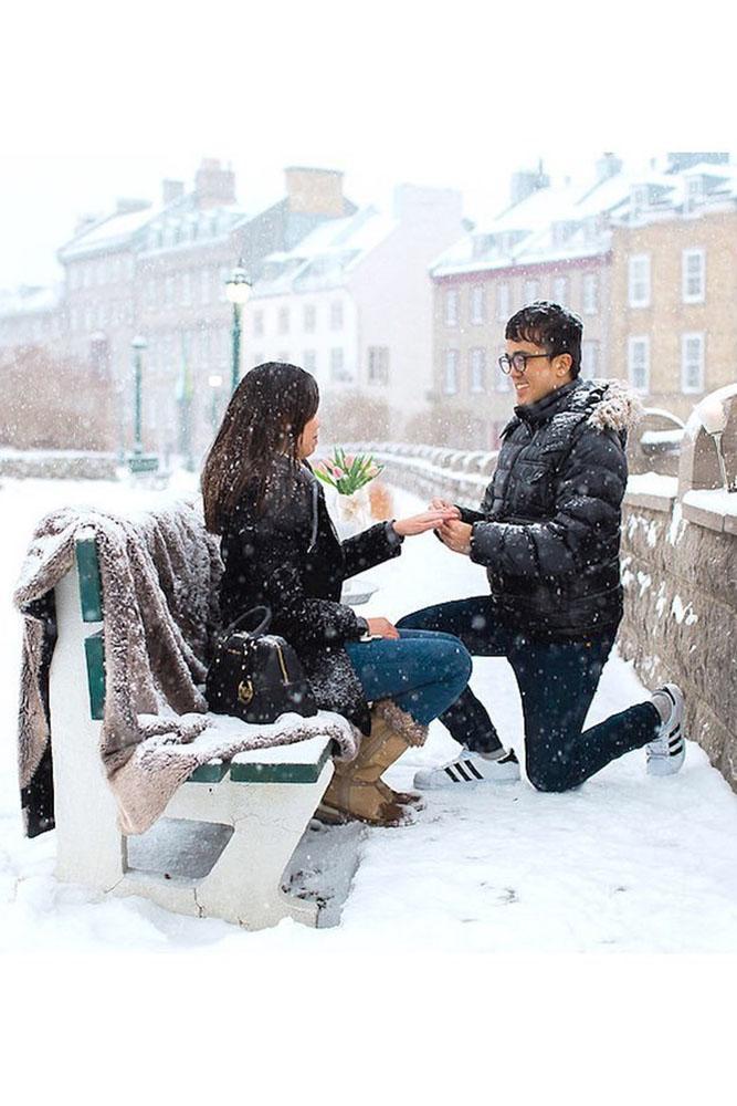 cheap proposal ideas unique proposal ideas winter proposals