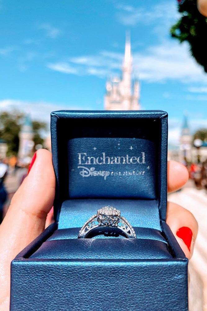 disney proposal ideas engagement announcement engagement rings