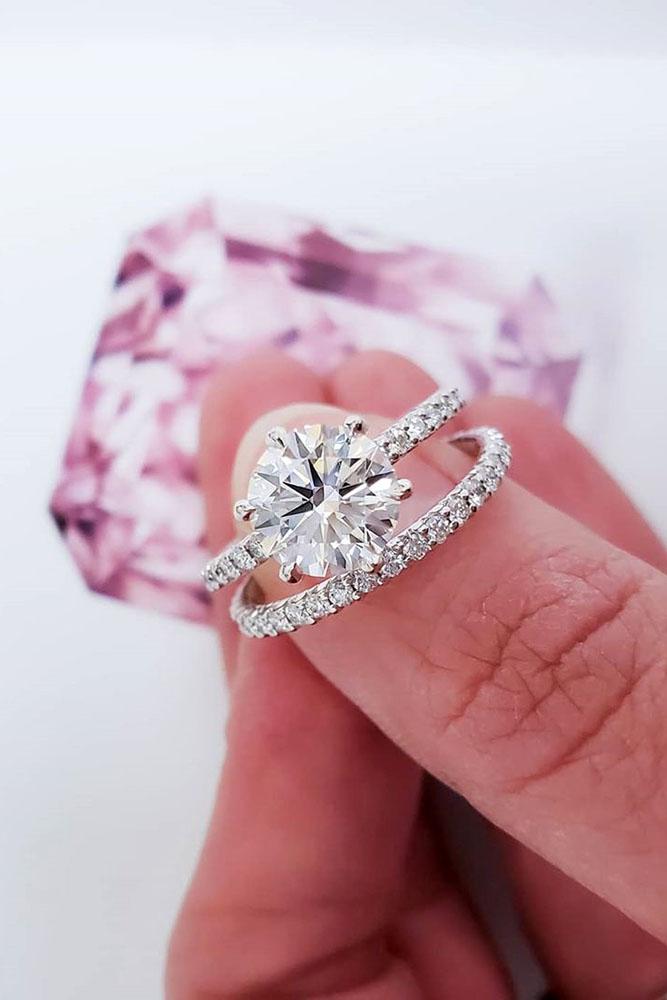 real vs fake diamonds gold engagement rings wedding ring sets