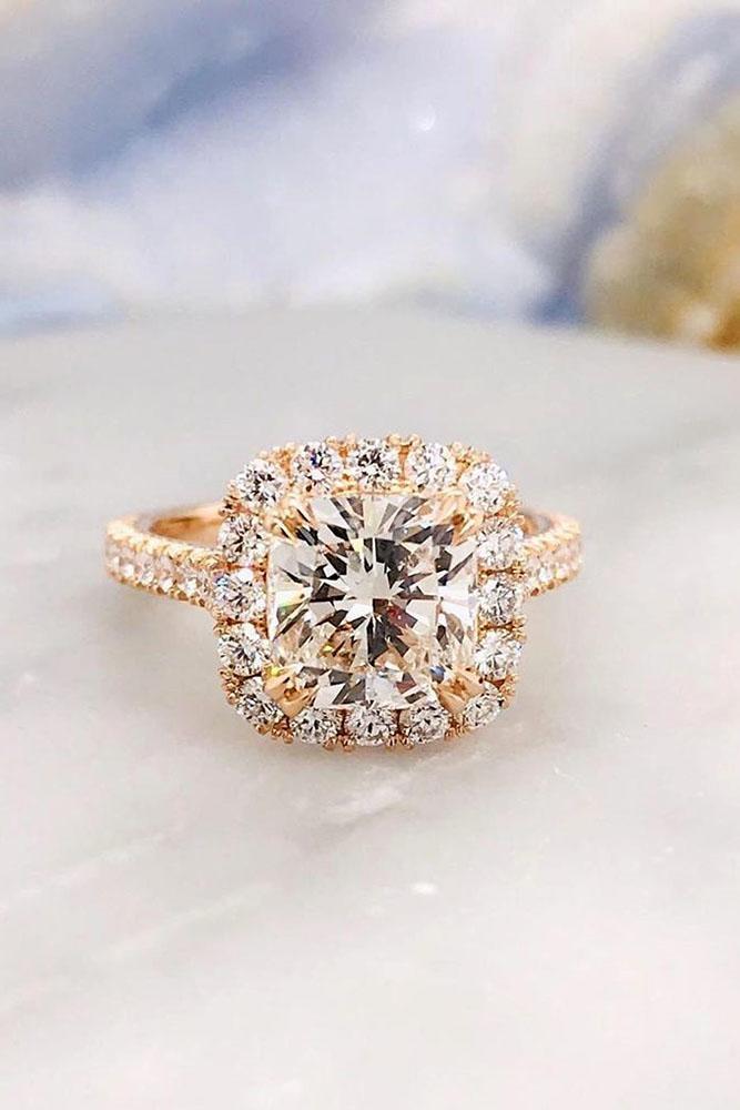 real vs fake diamonds rose gold engagement rings diamond halo engagement ring