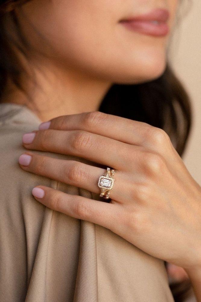 rose gold engagement rings kirk kara rings beautiful vintage details