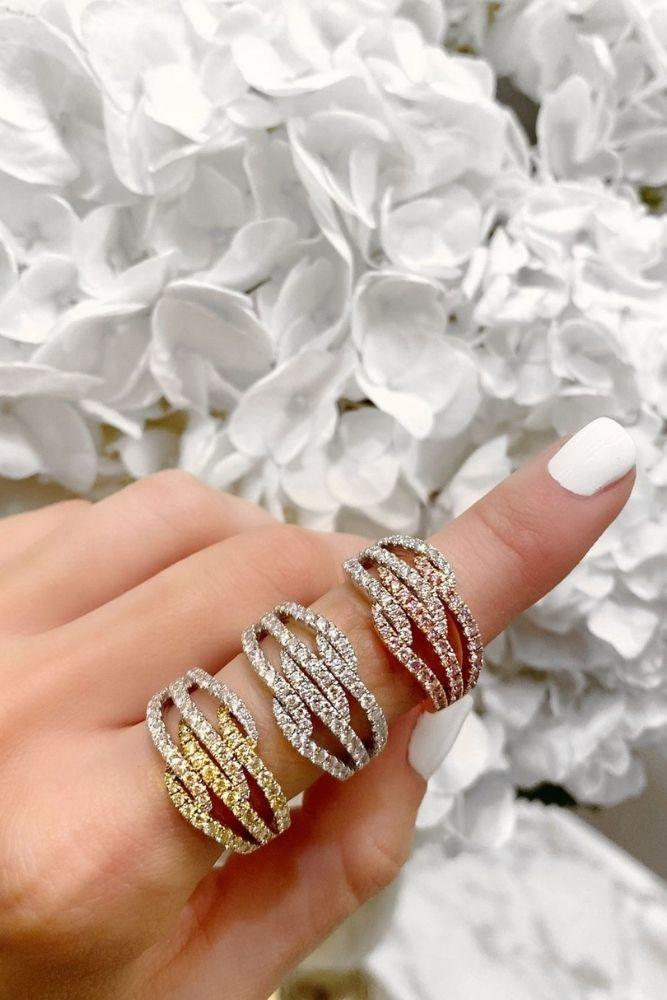 unique wedding rings diamond bands1
