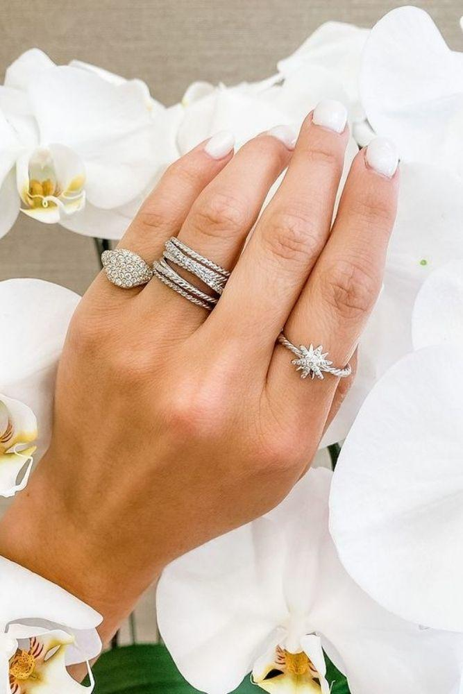 unique wedding rings diamond bands