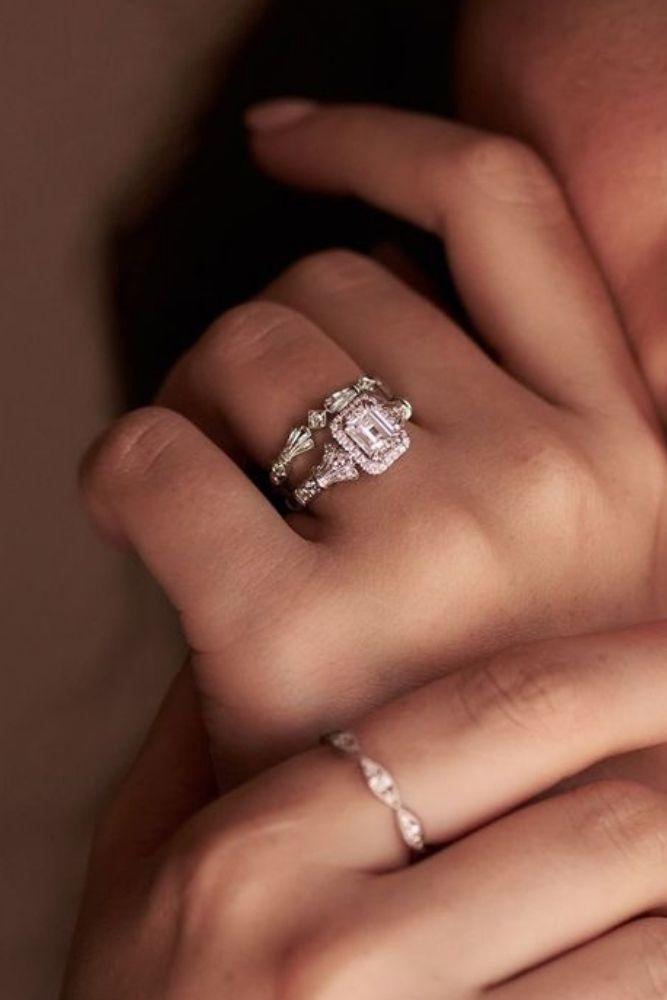 unique wedding rings unique white gold wedding rings2