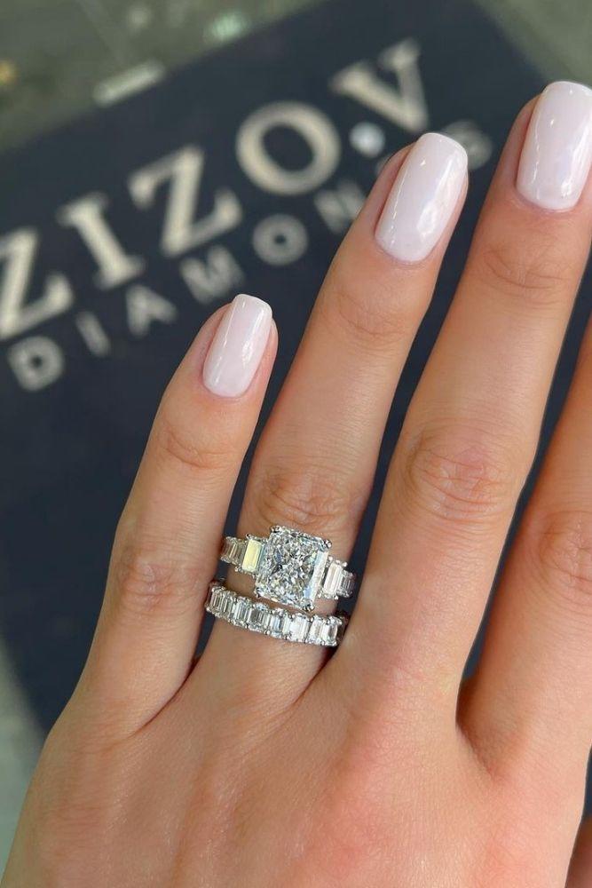 unique wedding rings unique white gold wedding rings1